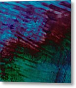View From In  A Rain Storm Metal Print