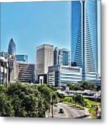 view of Charlotte North Carolina Metal Print