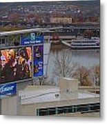 View Of Cincinnati Metal Print by Dan Sproul