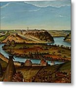 View Of Fort Snelling Metal Print