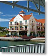 View Of Gulf Harbour From Rotunda Metal Print