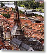 View Of Heidelberg Metal Print