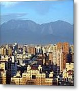 View Of Kaohsiung City In Taiwan Metal Print