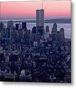 View Of Lower Manhattan Metal Print