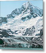 View Of Margerie Glacier In Glacier Bay Metal Print