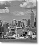 View Of Nyc Metal Print