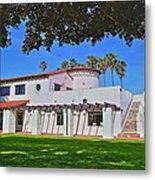 View Of Ole Hanson Beach Club San Clemente Metal Print