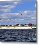 View Of Point Lookout Metal Print