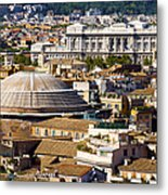 View Of Rome's Rooftops Metal Print