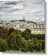 View Of Sacre Coeur From The Musee D'orsay Metal Print