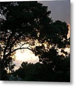 View Of Sunfall Metal Print