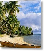 View Of Tahiti Metal Print