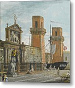 View Of The Arsenale. Venice Metal Print