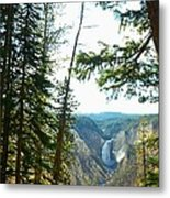 View Of The Canyon Metal Print