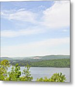 View Of The Mountains Of Alabama Metal Print