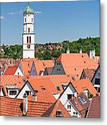 View Of The Old Town With St. Martins Metal Print