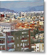 View Of Tirana From Dajti Mountain Metal Print