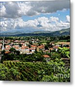 View Of Tuscany Metal Print
