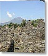 View Of Vesuvius Metal Print