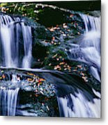 View Of Waterfall, Inversnaid Falls Metal Print