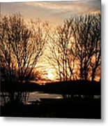 View On My Evening Walk Metal Print