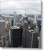 View Over Manhattan  Metal Print