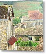 View Over Saint Emilion France 1 Metal Print