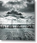 View Point On The Pier Metal Print