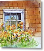 View Through The Window Metal Print