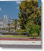 View To Haifa Metal Print