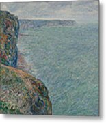 View To The Sea From The Cliffs Metal Print