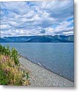 View Two Kluane Lake From Cottonwood Campground Near Destruction Bay-yk Metal Print