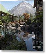 Viewing Arenal Volcano Metal Print