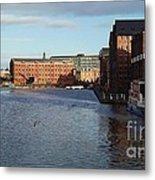 Views From Historic Gloucester Docks 2 Metal Print