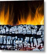 Views From The Fireplace Metal Print