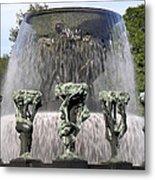 Vigelands Fountain 2 Metal Print