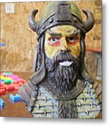 Viking 04 - Little Smile - Animation Project Metal Print