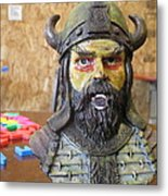 Viking 06 - Little Mouth - Animation Project Metal Print
