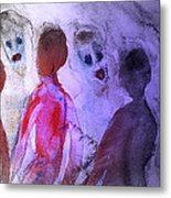 Been To The Ball And Going To The Nachspiel  Metal Print by Hilde Widerberg