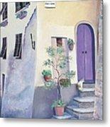 Villa Degli Algeri Tuscany Metal Print