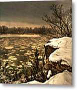 Village Bluff Metal Print