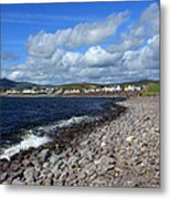 Village By The Sea - County Kerry - Ireland Metal Print