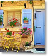 Village House In The Tiny Luberon Metal Print
