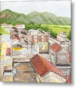 Village Metal Print by Lilibeth Andre