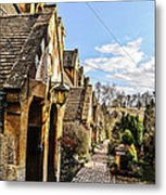 Village Of Winchcombe Metal Print