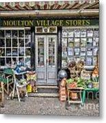 Village Stores 2 Metal Print