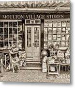 Village Stores 3 Metal Print