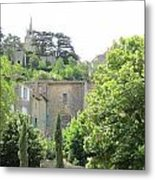Village View Metal Print