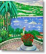 Villefranche Sur Mer---cote-d'azur Metal Print