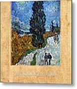 Vincent Van Gogh 4 Metal Print
